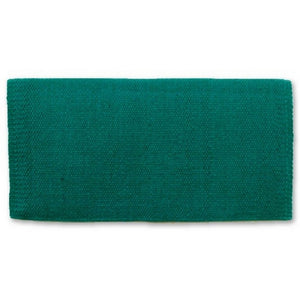 "Mayatex San Juan Solid Wool Saddle Blanket - 36""x34"""
