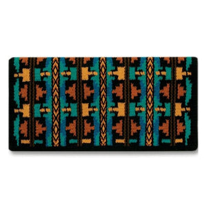 "Mayatex Broken Arrow Wool Saddle Blanket - 38""X34"""