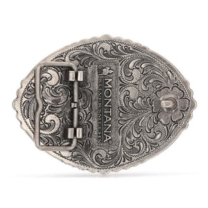 Montana Silversmiths Pain Is Temporary Bull Riding Attitude Belt Buckle