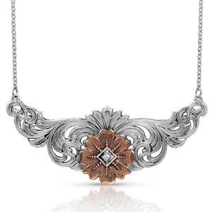 Montana Silversmiths Wildflower Kaleidoscope Necklace