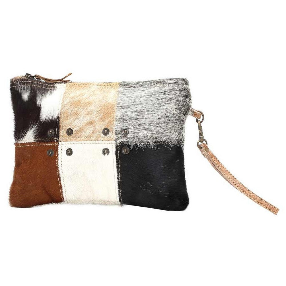 Myra Button Hairon Small Bag