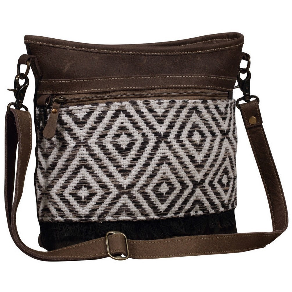 Myra Patterned Shoulder Bag