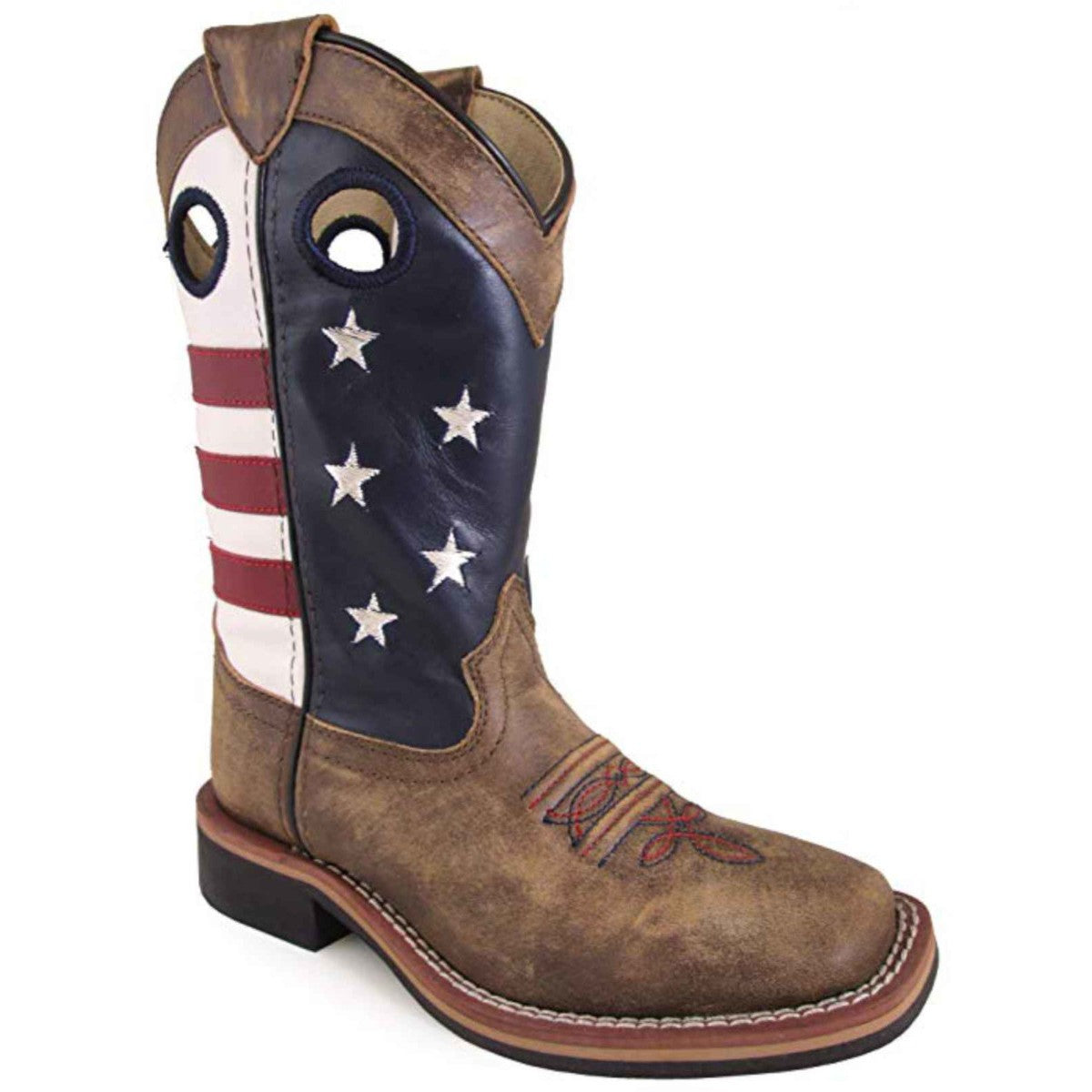 Smoky Mountain Kids' Stars and Stripes Cowboy Boots