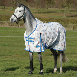 WeatherBeeta ComFiTec Essential Mesh II Standard Neck Fly Sheet For Horses