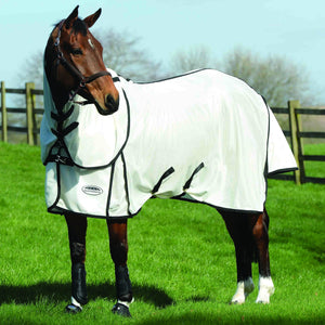 WeatherBeeta ComFiTec Airflow II Detach-A-Neck Fly Sheet For Horses