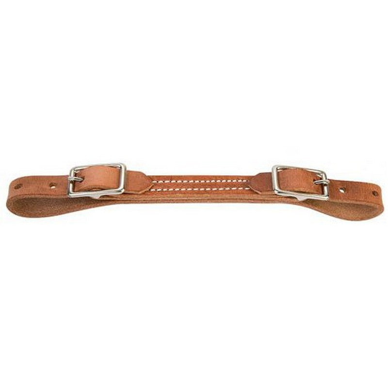 Weaver Flat Harness Leather Curb Strap