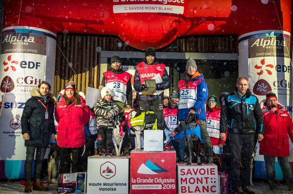 RÉMY COSTE WINS LA GRANDE ODYSSÉE SAVOIE MONT BLANC 2019 AND A LIMITED-EDITION ALPINERX WATCH
