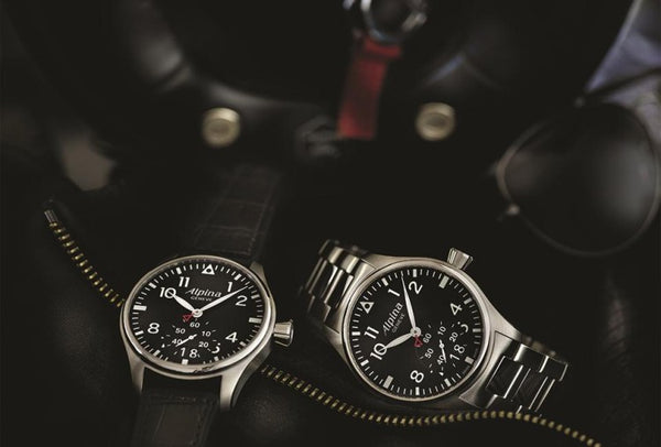 ALPINA'S ALL-NEW STARTIMER PILOT BIG DATE MODELS