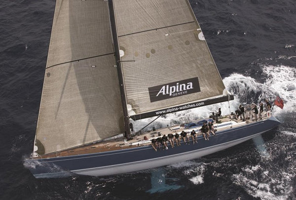 SUPPORT FOR ALPINA SAILING COLLECTION