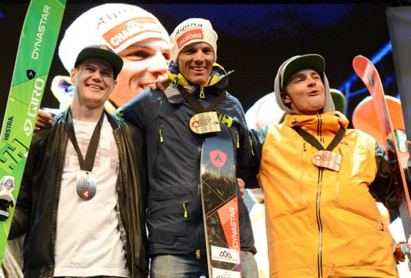 AURÉLIEN DUCROZ, WINS THE 2015 XTREME VERBIER