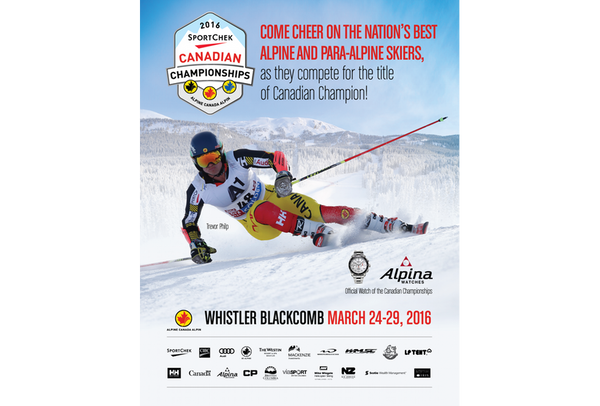 ALPINA WATCHES NAMED OFFICIAL WATCH OF THE 2016 SPORT CHEK CANADIAN CHAMPIONSHIPS