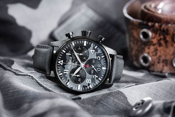 2017 NOVELTY – STARTIMER PILOT QUARTZ BIG DATE CHRONOGRAPH