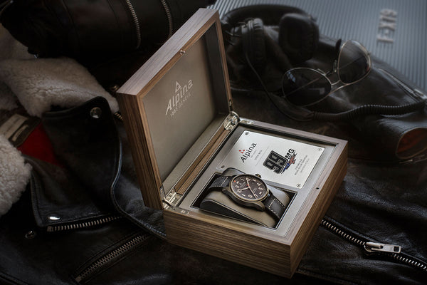 INTRODUCING THE 99MG LIMITED EDITION STARTIMER PILOT TIMEPIECE WITH BRAND AMBASSADOR, CHAMPION AVIATOR, MICHAEL GOULIAN