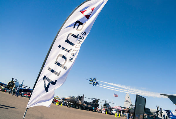 ALPINA PARTICIPATES AT ANNUAL SUN 'N FUN FLY-IN AND EXPO AS OFFICIAL TIMEKEEPER ALONGSIDE BRAND AMBASSADOR, MICHAEL GOULIAN