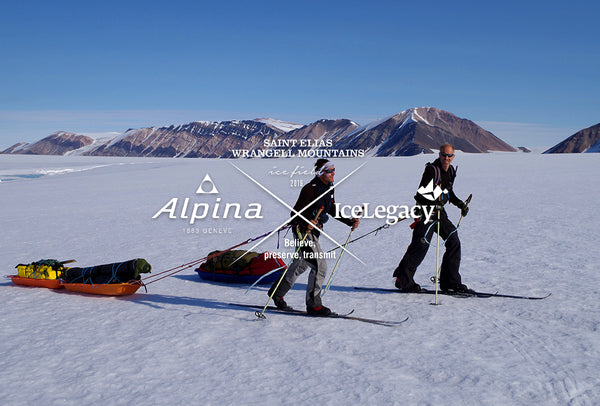 ALPINA & ICELEGACY 2016 BORGE OUSLAND AND VINCENT COLLIARD TO CROSS THE ALASKAN ST. ELIAS ICE FIELD UNSUPPORTED