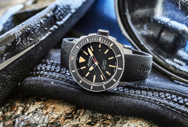 THE ALPINA SEASTRONG DIVER 300 AUTOMATIC