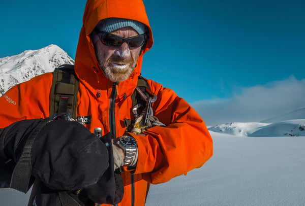 POLAR EXPLORERS AND ALPINA WATCHES ADVENTURERS, BORGE OUSLAND AND VINCENT COLLIARD SUCCESSFULLY CROSSED THE ST. ELIAS ICE FIELD