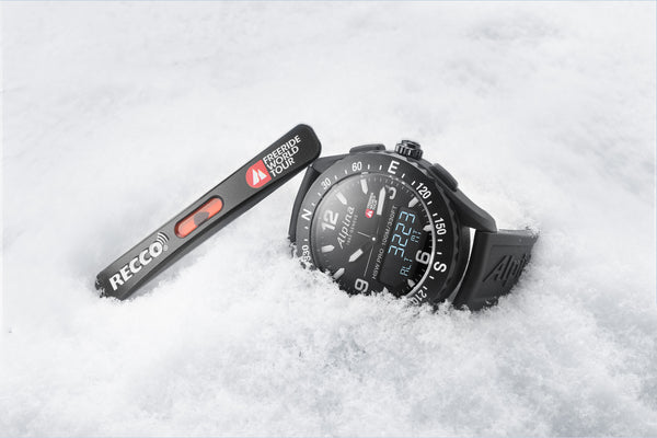 RÉMY COSTE WINS LA GRANDE PARTNERSHIP WITH THE FREERIDE WORLD TOUR CONTINUES WITH A NEW WAVE OF AMBASSADORS JOINING ITS MOUNTAIN TEAM. SAVOIE MONT BLANC 2019 AND A LIMITED-EDITION ALPINERX WATCH