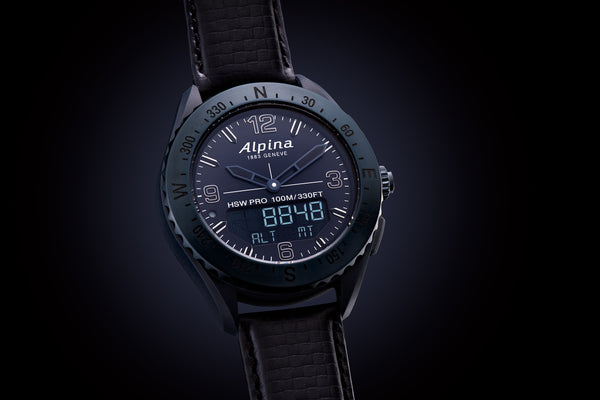 ALPINA SENDS THE ALPINERX WATCH INTO SPACE