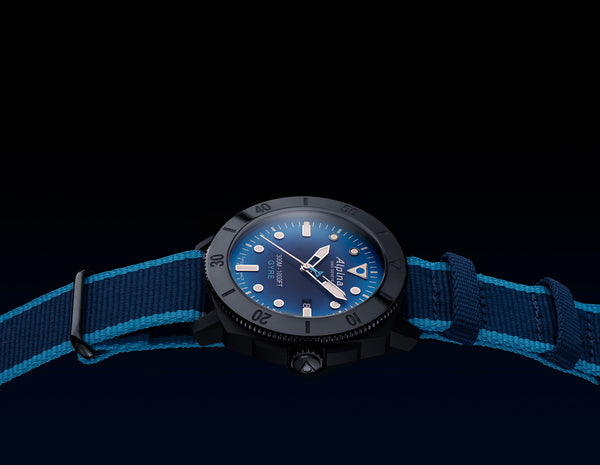 Seastrong Diver Gyre Automatic:  Alpina pledges to protect the oceans