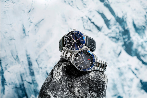 ALPINA ENHANCES ITS ALPINER QUARTZ WITH THE GMT FUNCTION