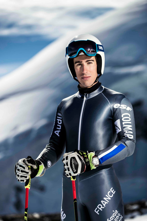 ALPINA WATCHES RENEWS ITS PARTNERSHIP WITH FRENCH SKIER VICTOR MUFFAT-JEANDET
