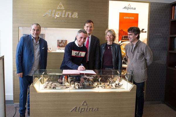 ALPINA SIGNS PARTNERSHIP WITH CHAMONIX-MONT-BLANC
