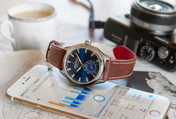 THE NEW BLUE ALPINA HOROLOGICAL SMARTWATCH