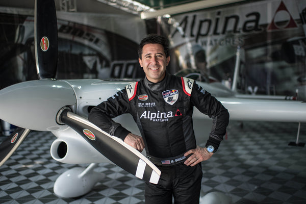 ALPINA WATCHES BRAND AMBASSADOR MICHAEL GOULIAN READY TO FLY AT THE ABU DHABI RED BULL AIR RACE