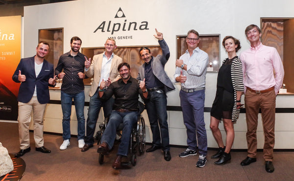 ALPINA SUPPORTS THE NO DIFFERENCE ASSOCIATION