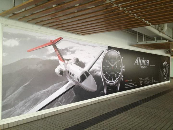 ALPINA – AROUND THE WORLD – BILLBOARD – HONG KONG