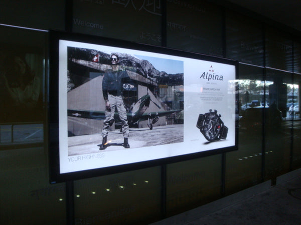ALPINA WATCHES AROUND THE WORLD – GENEVE AIRPORT