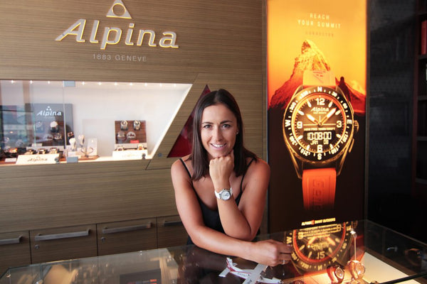 ITALIAN FIS WORLD CUP ALPINE SKIER IRENE CURTONI – ALPINA WATCHES BRAND AMBASSADOR