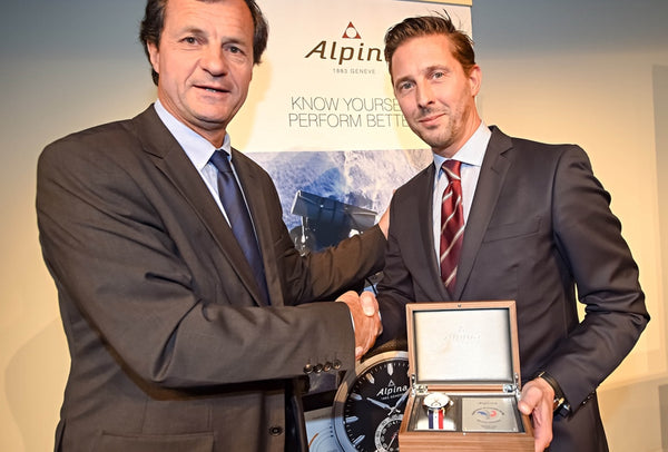 ALPINA WATCHES BECOMES THE OFFICIAL WATCH OF THE FRENCH SKI FEDERATION (FFS)