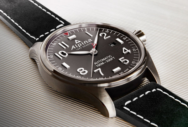 BASELWORLD SPOTLIGHT ALPINA'S NEW STARTIMER PILOT AUTOMATIC