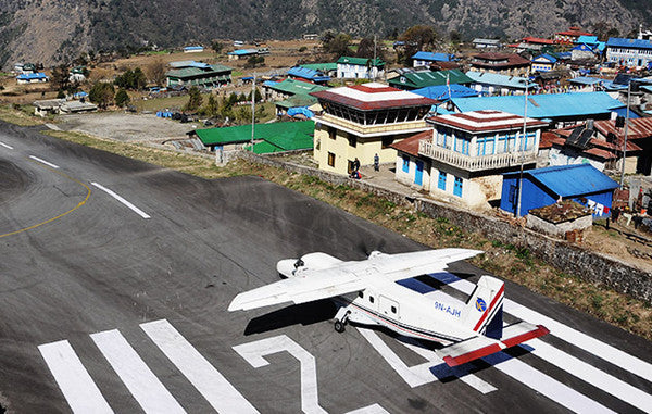 TENZING-HILLARY AIRPORT, THE TOUGHEST THE WORLD