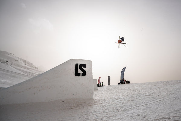 The Alpina Team attended the Big Air European Cup in Les Arcs