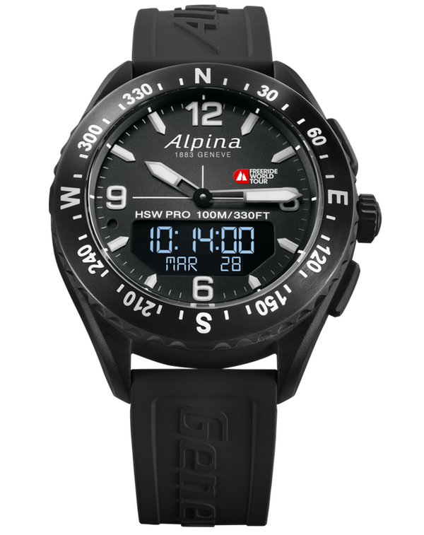 Alpinerx Freeride World Tour Limited Edition Black | Advanced Alpina Watches