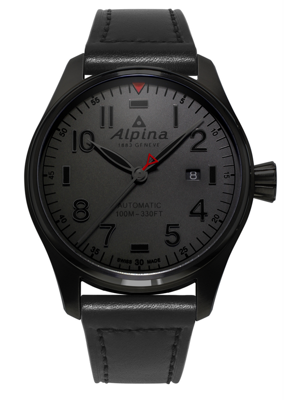 STARTIMER PILOT AUTOMATIC <br> SHADOW LINE <br>DARK GREY