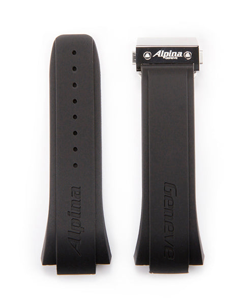 AVALANCHE <br> SILICONE DIVE STRAP WITH FOLDING CLASP <br> 28MM