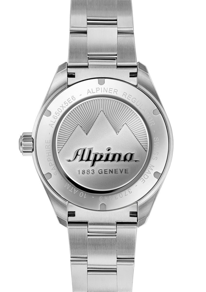 ALPINER REGULATOR AUTOMATIC <BR> BLACK DIAL
