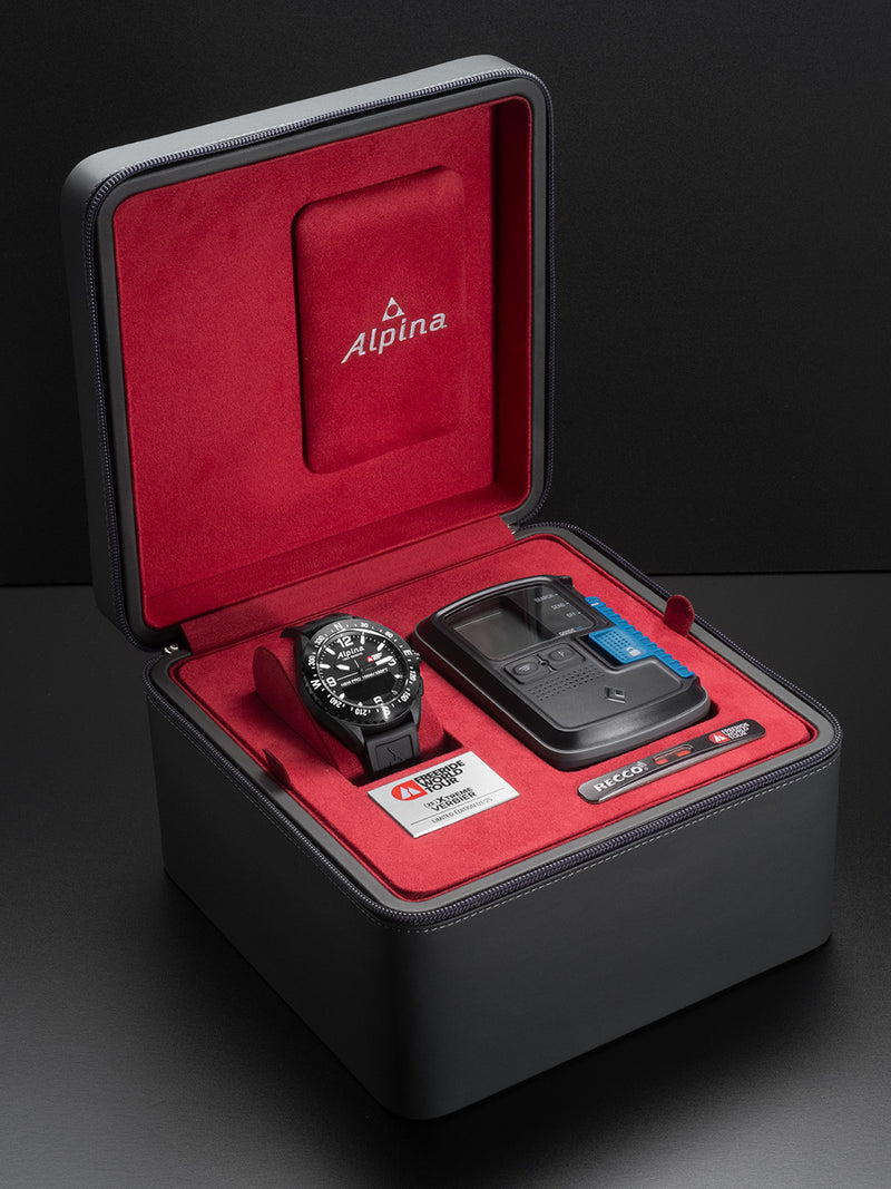 Alpinerx Freedom World Tour Safety Package Black | Personalized Smartwatches | Alpina Watches