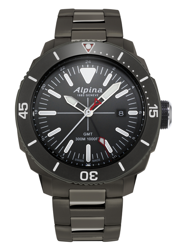 SEASTRONG DIVER GMT <br> GREY