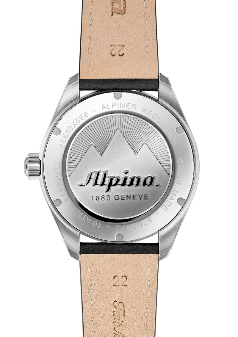 ALPINER REGULATOR AUTOMATIC <BR> BLACK DIAL <BR> BLACK