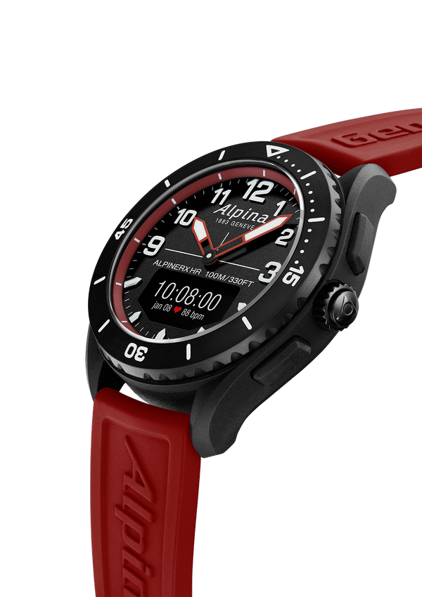 ALPINERX ALIVE <br> BLACK / RED