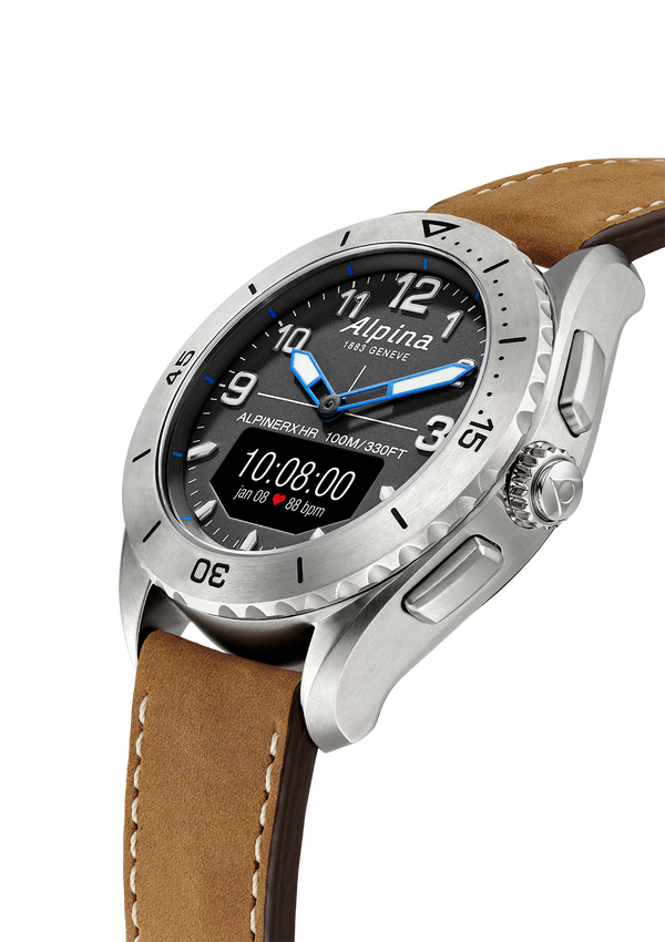 AlpinerX Alive Titanium / Grey & Brown