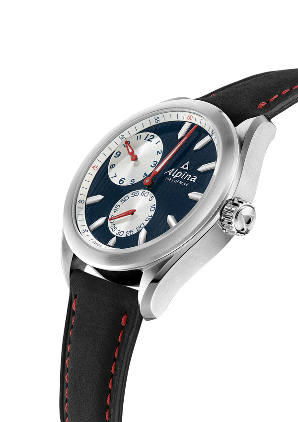 ALPINER REGULATOR AUTOMATIC <BR> DARK BLUE <BR> BLACK <BR> LIMITED TO 883 PIECES