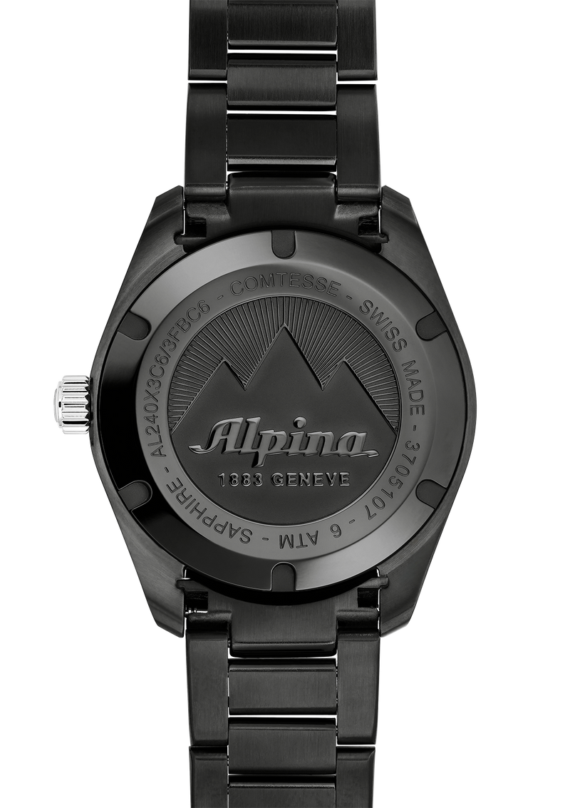 Alpiner Comtesse Sport Quartz Black Bracelet | Alpina Watches