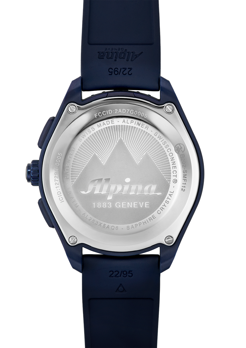 Alpinerx Navy Blue / Navy Blue | Blue Glass-Fiber | Alpina Watches