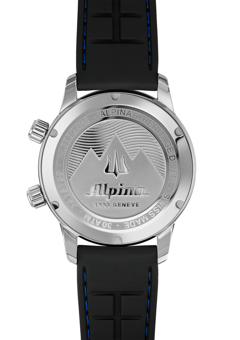 Seastrong Diver Heritage Dark Grey | Auto Winding | Alpina Watches
